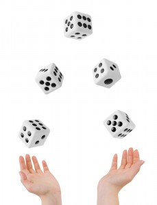 effective leaders roll the dice